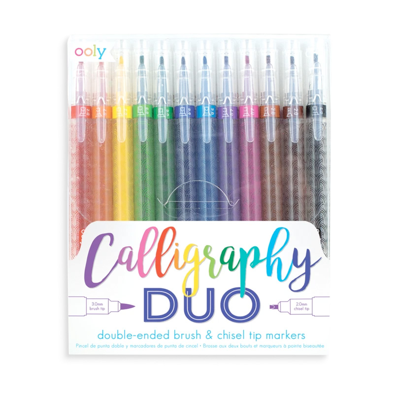 Calligraphy Duo Double Ended Markers (set of 12)