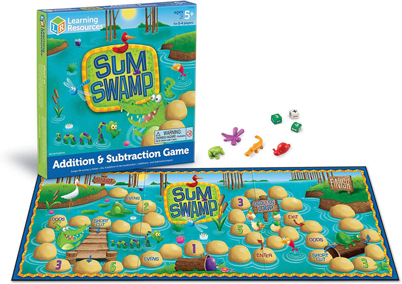 Sum Swamp Addition & Subtraction Game