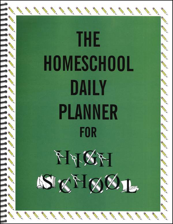 Homeschool Daily Planner for High School