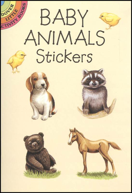 Baby Animals Realistic Stickers