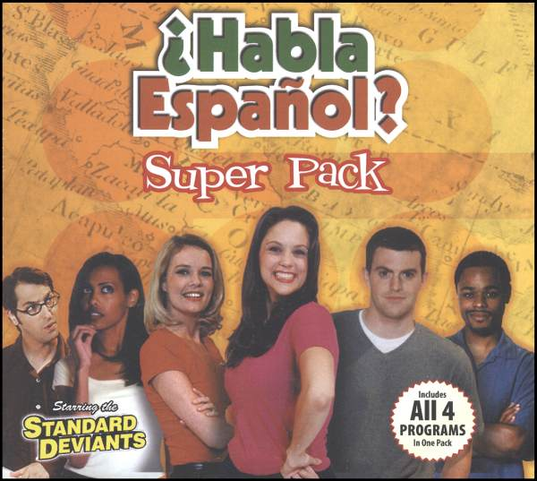 Spanish Set of 4 DVD