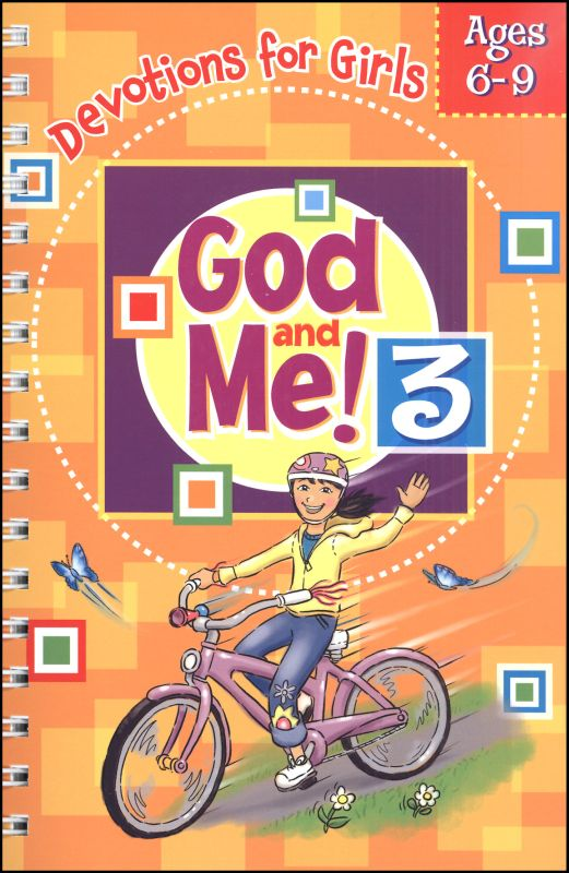 God and Me! 3: Devotions for Girls Ages 6-9