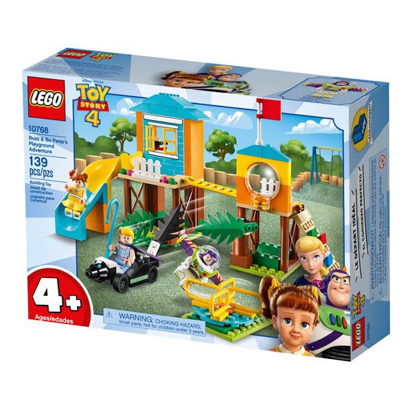10768 Lego Disney Pixar Toy Story 4 Buzz /& Bo-Peep/'s Playground Adventure