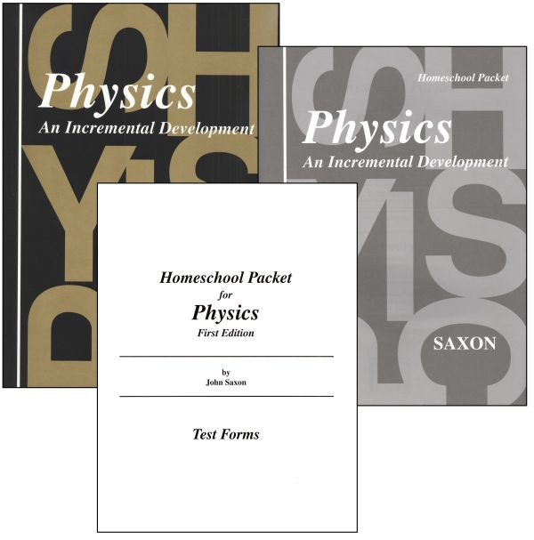Saxon Physics Home Study Kit