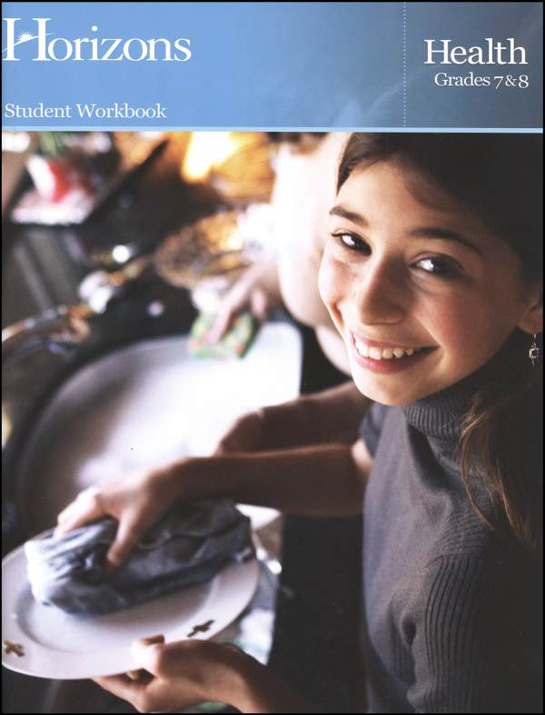 Horizons Health Workbook Gr 7-8