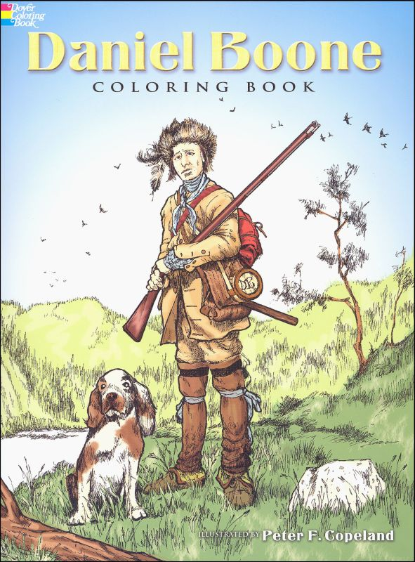 Daniel Boone Coloring Book
