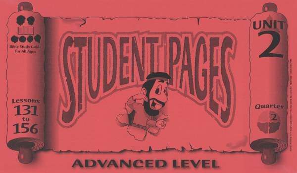 Advanced Student Pages for Lessons 131-156