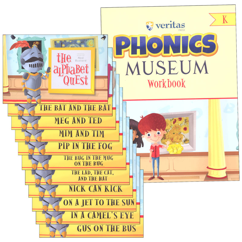 Phonics Museum K Student Kit with Primers 2nd Edition