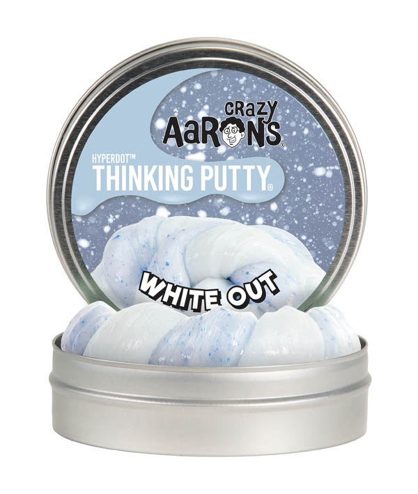 "White Out Putty 4"" Tin (Hyperdot)"