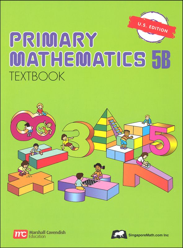 Primary Math US 5B Textbook