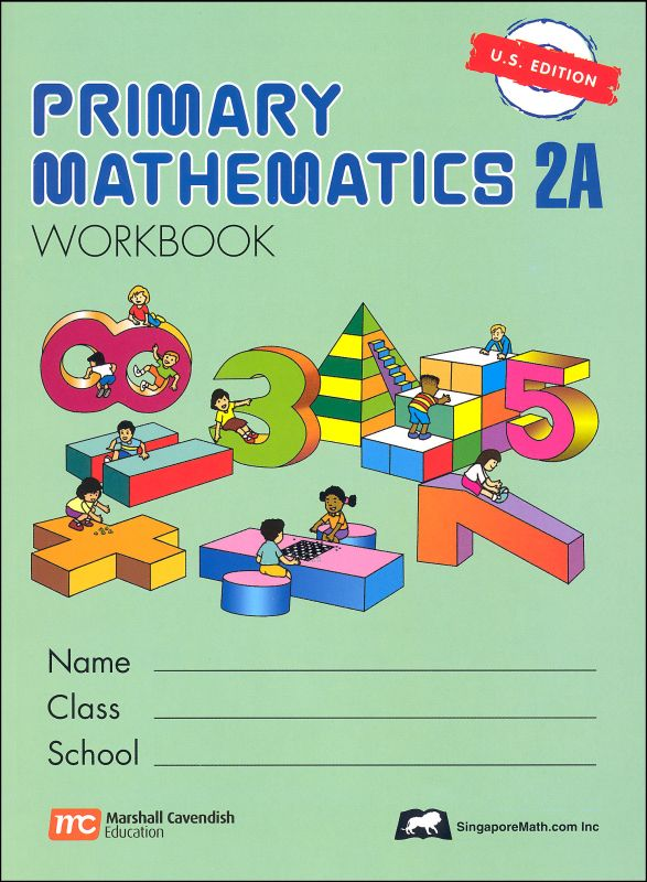 Primary Math US 2A Workbook