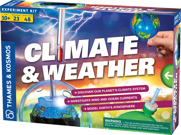 Climate & Weather Experiment Kit (Explorations Series)