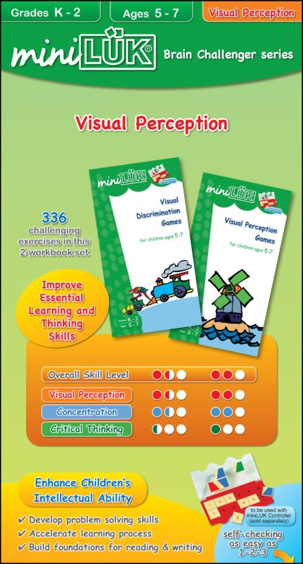 miniLUK Brain Challenger Visual Perception Pack 1