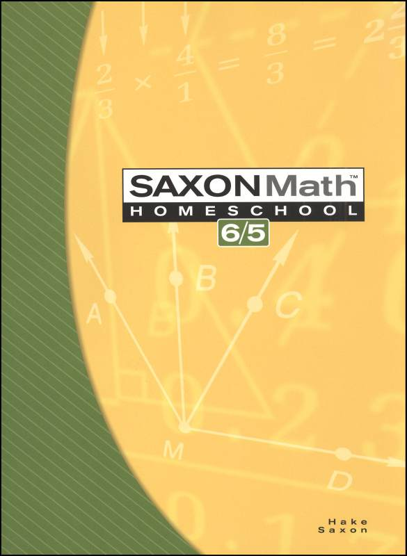 Math 6/5 Homeschool Student Edition (3rd Edition )