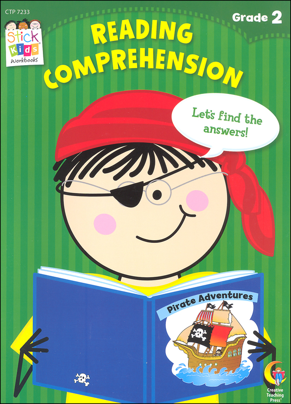 Reading Comprehension: Second Grade (Stick Kids Workbooks) Creative  Teaching Press 9781616018030