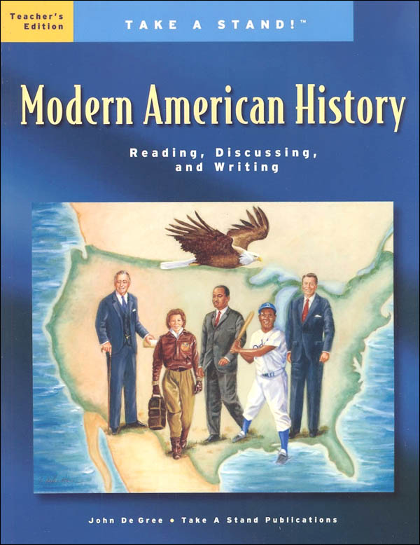 Take a Stand! Modern American History Teacher