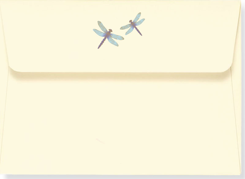 Blue Dragonflies Boxed Stationery