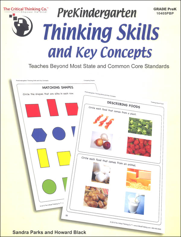 Pre-Kindergarten Thinking Skills & Key Concepts