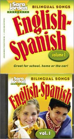 Bilingual Songs Vol 1 English-Spanish Book/CD