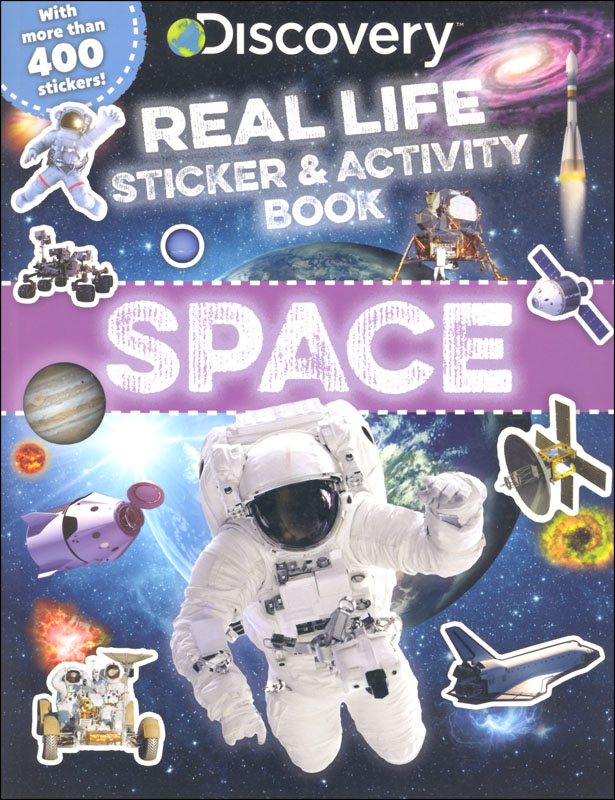 Discovery Real Life Sticker and Activity Book: Space