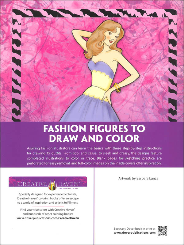 How To Draw Fashion Figures Creative Haven How To Draw Dover Publications 9780486798776