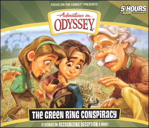 Adventures in Odyssey #53 CD/Green Ring Conspiracy