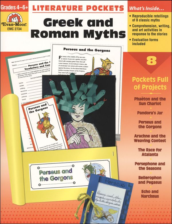 Literature Pockets - Greek & Roman Myths