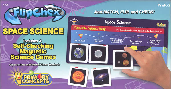 Flip Chex Science - Space Science