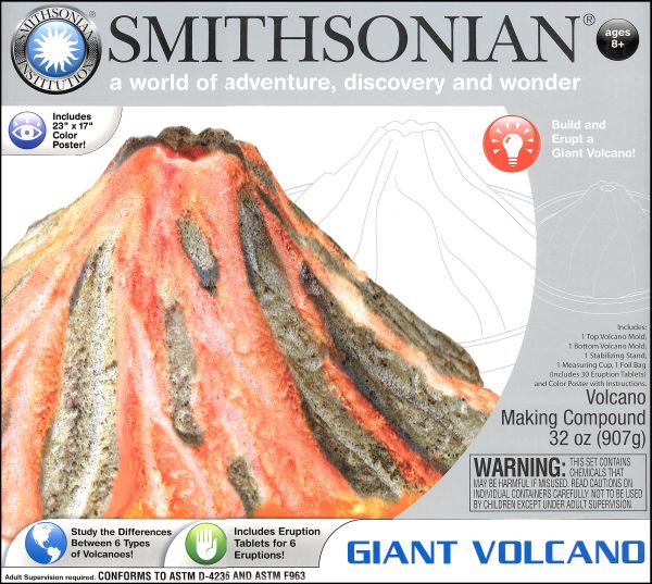 Smithsonian Giant Volcano Kit