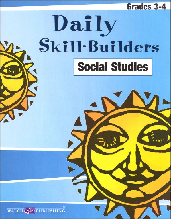 Daily Skill Builders Social Studies Gr 3-4
