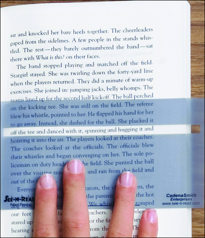 "See-N-Read Reading Tool - Book Size (5 1/2"" x 3"")"