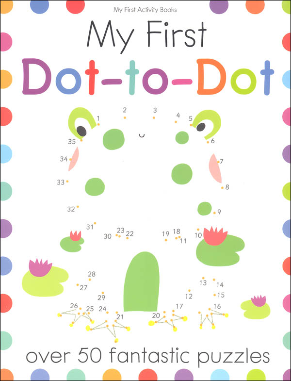 My First Dot-to-Dot (My First Activity Book)