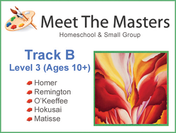 Meet the Masters @ Home Art Program Track B 10-AD