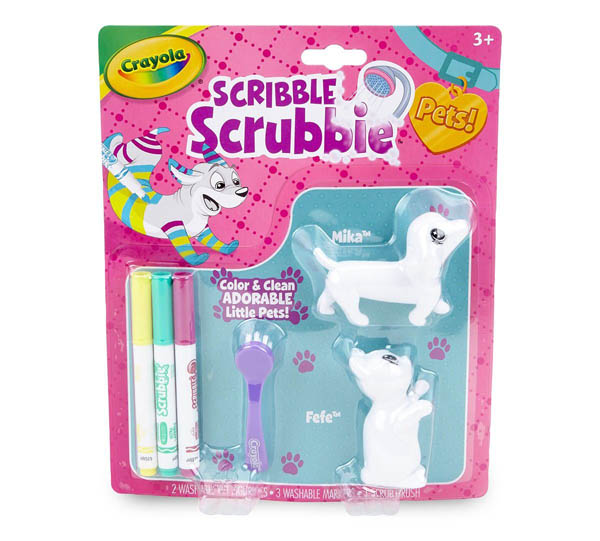 Crayola Scribble Scrubbie Pets! Pet Pack 3 (Dog/Cat)