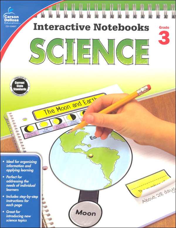 Interactive Notebooks: Science - Grade 3