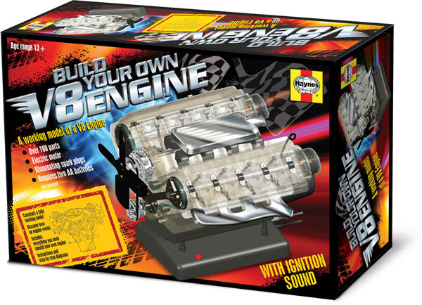 Build Your Own Haynes V8 Engine