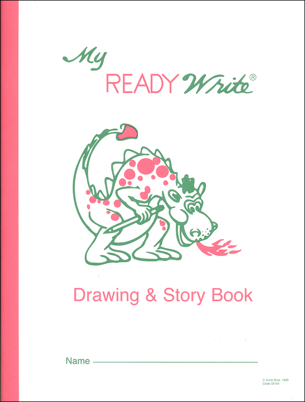 "My ReadyWrite Drawing and Story Book  8 1/2"" x 11"" 48 pages"
