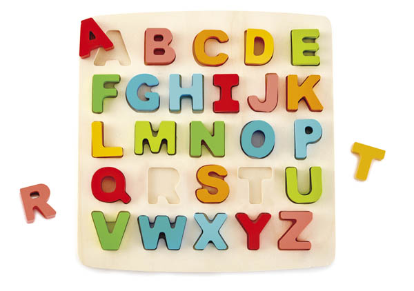 Chunky Alphabet Wooden Puzzle Game