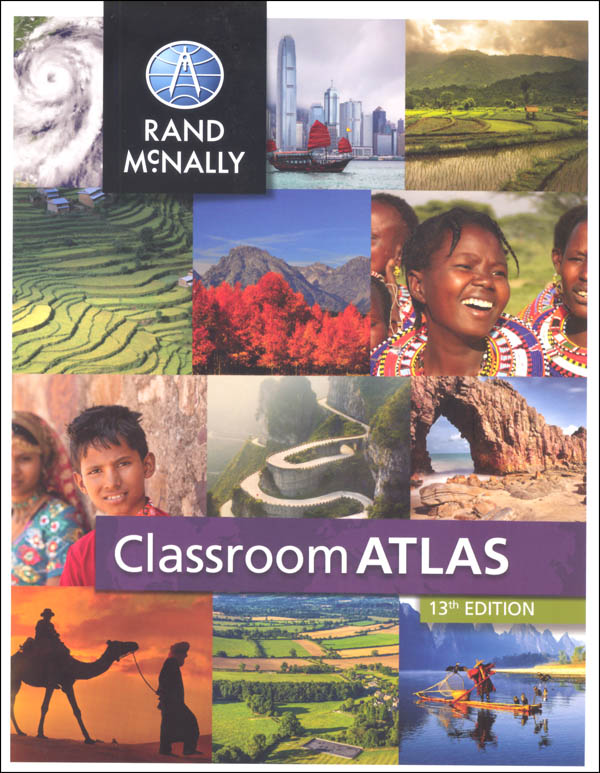 Rand Mcnally Classroom Atlas 13th Edition Canada Map Classroom Atlas | Rand McNally & Company | 9780528015144