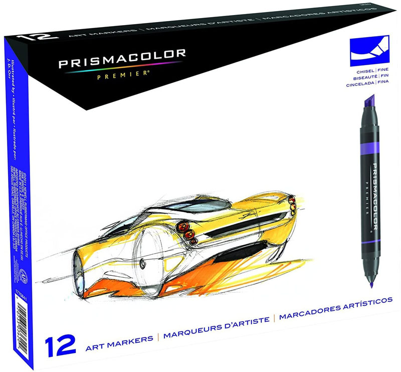 Prismacolor Double-Ended Marker Set 12-color