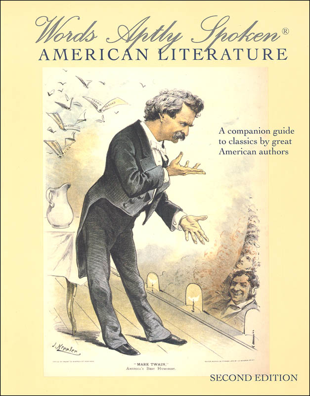 Words Aptly Spoken: American Literature 2nd Edition