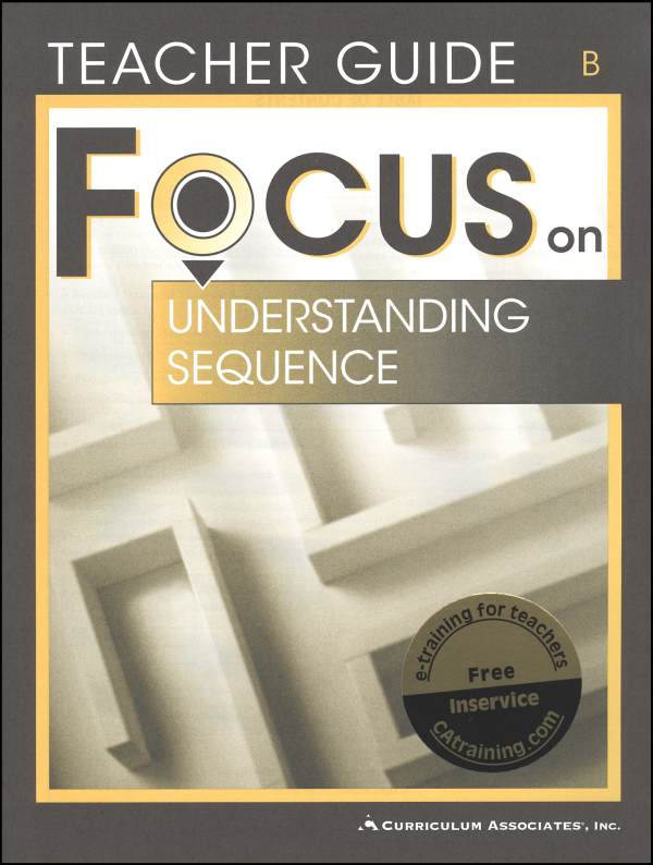 Understanding Sequence Bk B Tchr (Focus On)