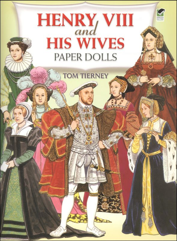 Henry VIII and His Wives Paper Dolls