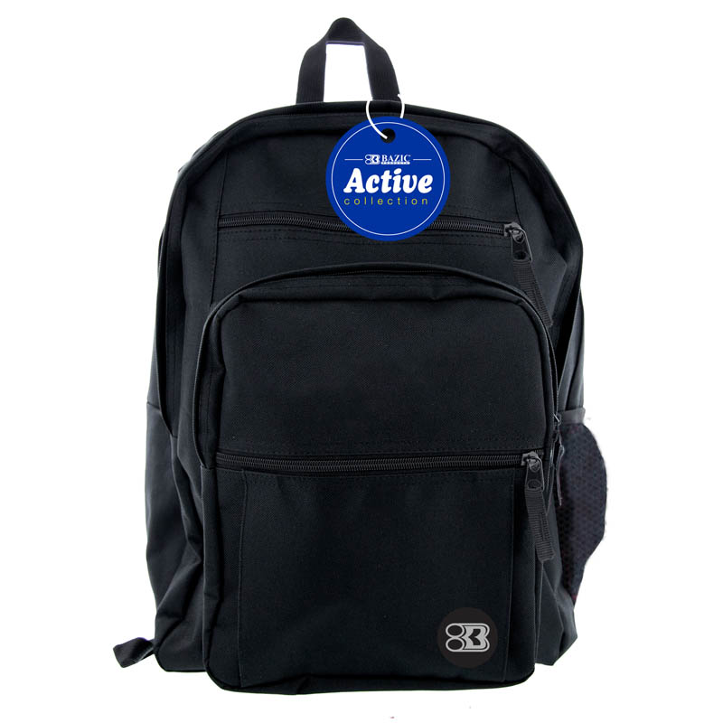Black Active Backpack 17""