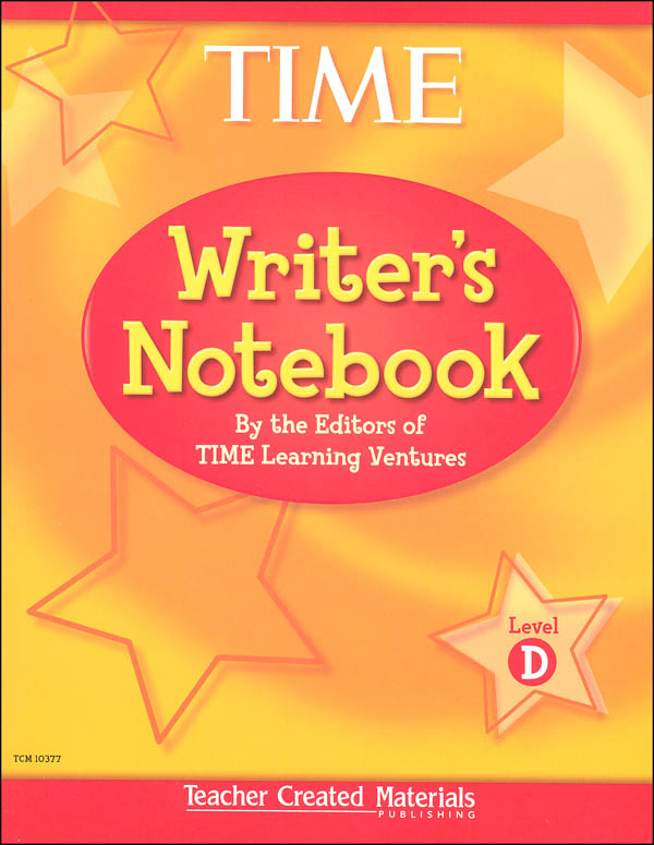 TIME For Kids Writer's Notebook Level D
