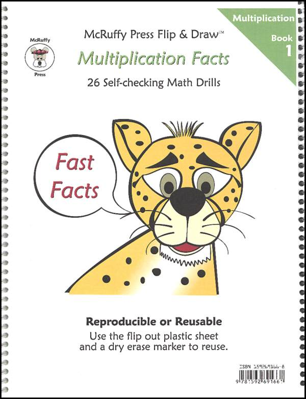 Fast Facts Flip & Draw Book - Mult 1