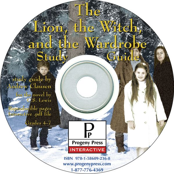 Lion, the Witch, and the Wardrobe Study Guide on CD