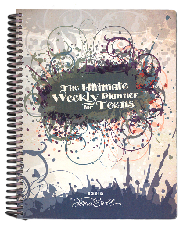 Ultimate Weekly Planner For Teens with Gray Cover