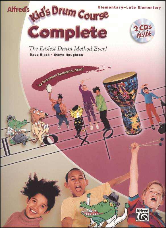 Alfred's Kid's Drum Course Complete (Books 1 & 2 with CDs)
