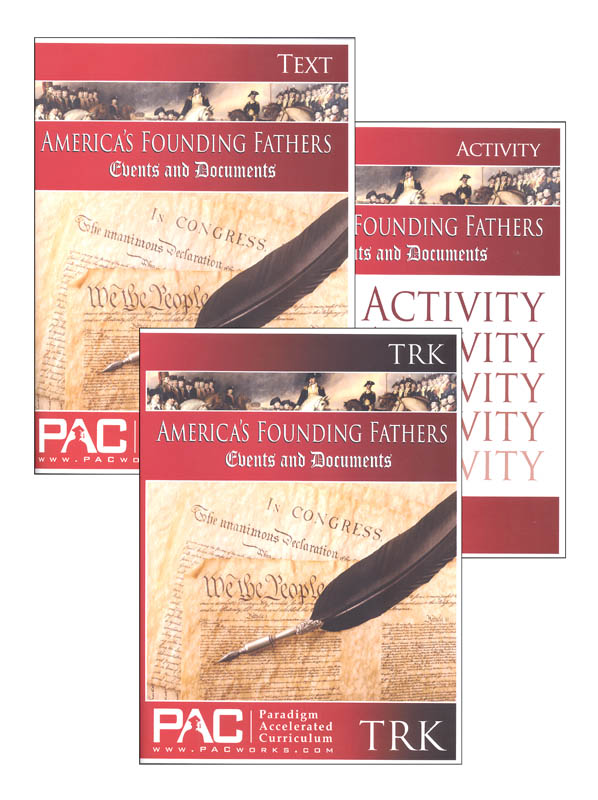 America's Founding Fathers, Events & Documents Complete Unit Kit
